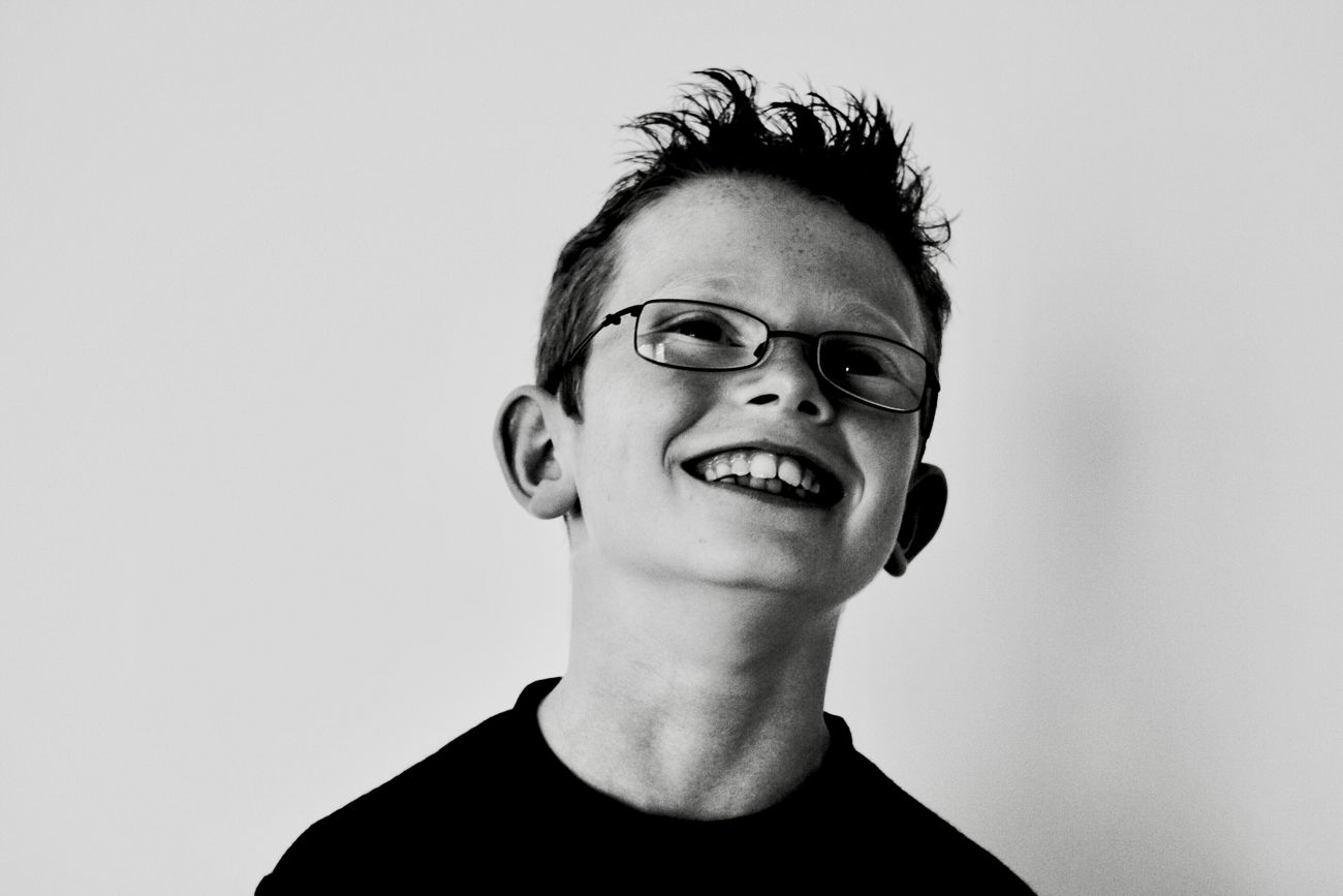 Dropping his guard Childhood Bkackandwhite Bkack And White Black & White Monochrome Portrait Child Youth Smile Happy Joy The Portraitist - 2017 EyeEm Awards