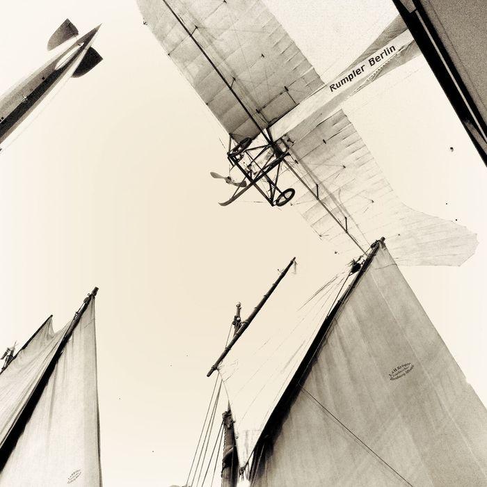Heading North :: Lookingup Bnw_friday_eyeemchallenge Hans Guck In Die Luft