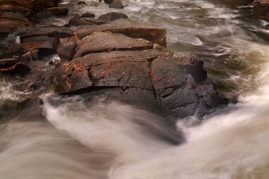 Rock - Object Nature Geology Travel Destinations Environment No People Beauty In Nature Water Outdoors Day Rushing River Provincial Park Ontario, Canada Moving Water The Great Outdoors - 2017 EyeEm Awards