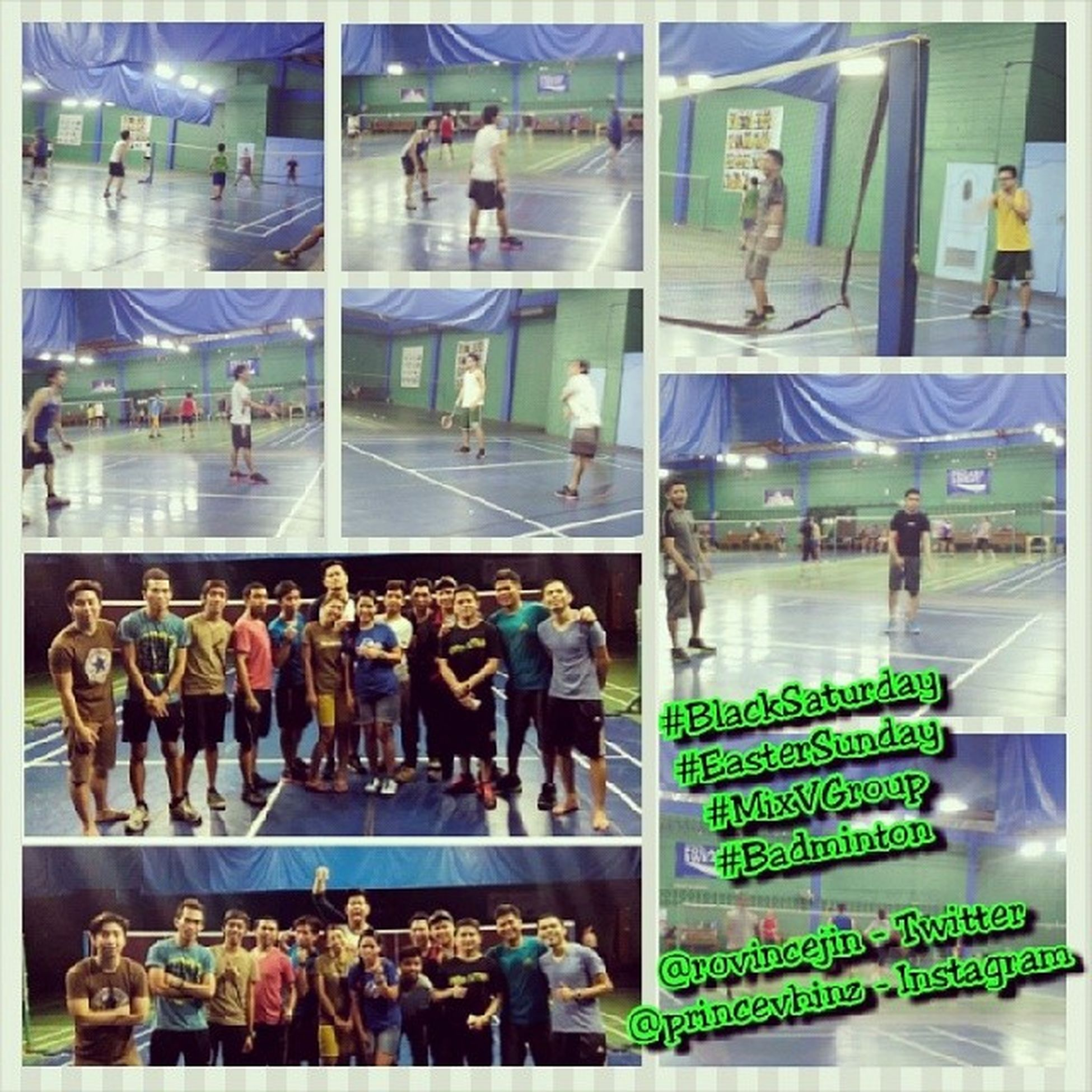 Blacksaturday Eastersunday MixVGroup Badminton