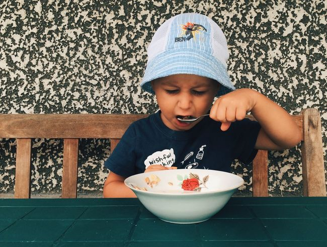 Morning cereals... Enjoying Life Hanging Out Outdoors EyeEm Best Shots Hello World Showcase: November Check This Out Relaxing Having Fun Portrait Vscocam Eye4photography  Made In Romania Food Foodporn Taking Photos Children Childhood
