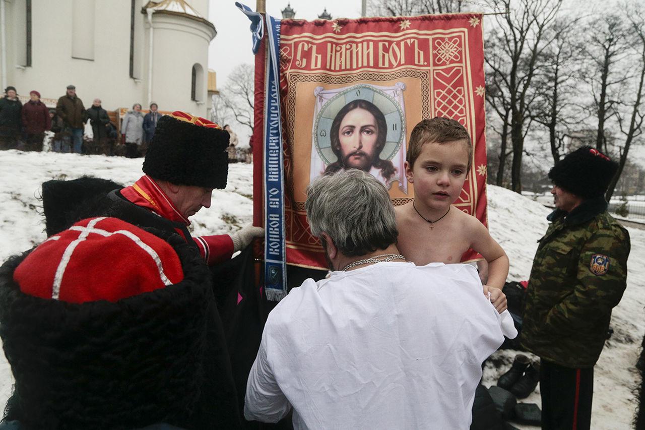 Russia Street Documentary Religion Epiphany Streetphoto Saint Petersburg Sestroretsk Cossack Winter Observecollective