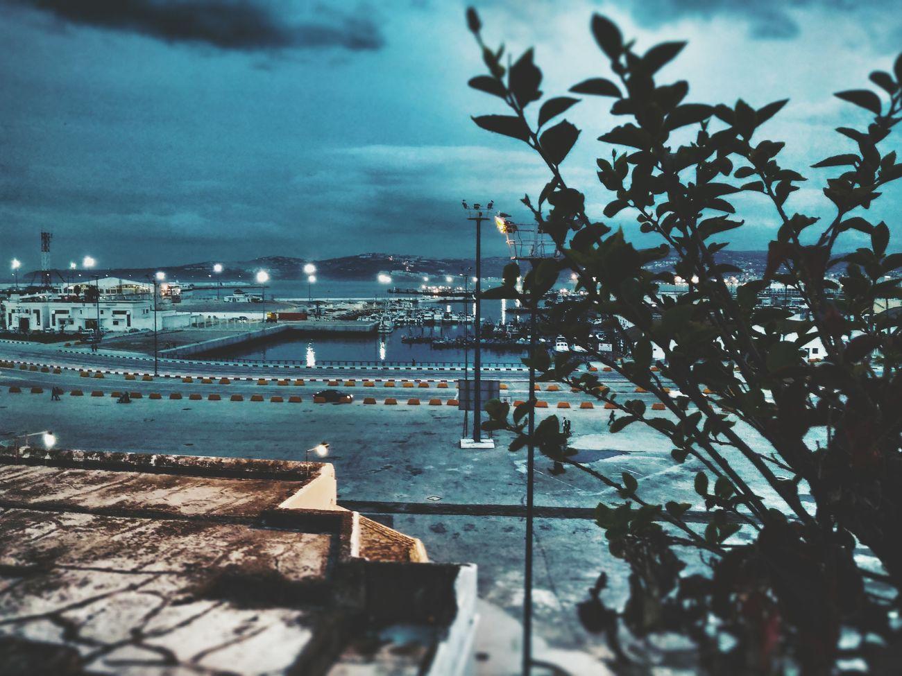 Sky Water Cloud - Sky Tanger  Season  Night