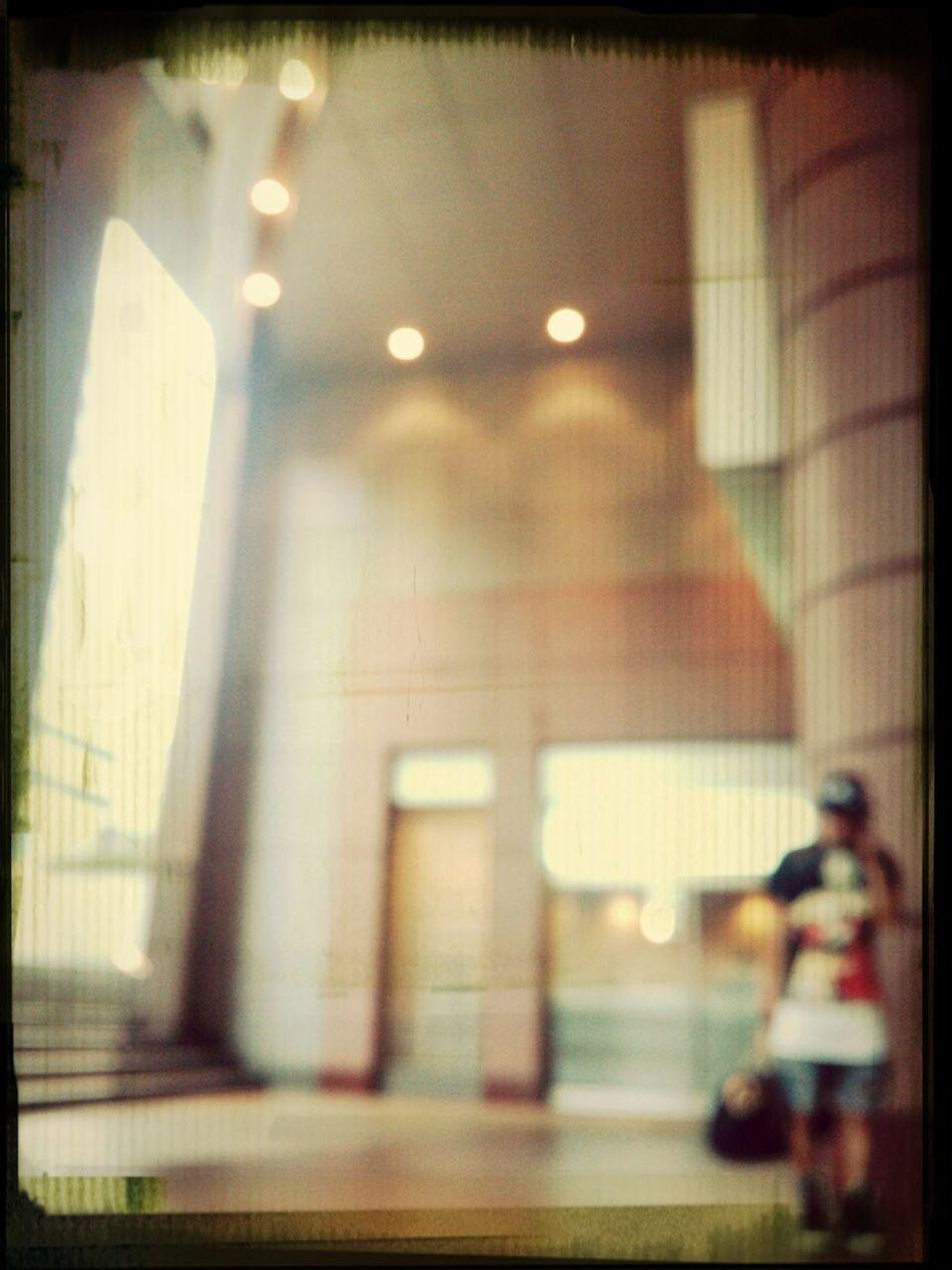電話中待ち~:-( Hurley Up Please? Blur Typhoonday