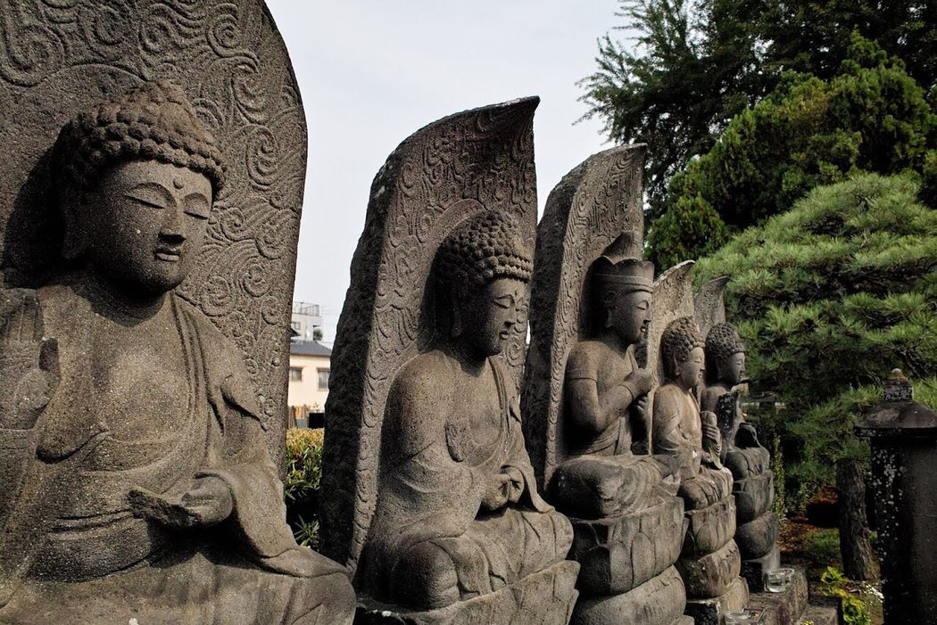 Stone Statue Japan Culture Statue Sculpture Human Representation Art And Craft Art Creativity Carving - Craft Product Religion Spirituality Stone Material Place Of Worship History Sky Outdoors Travel Destinations Memories The Past Day Famous Place Culture Japan Japan Photography