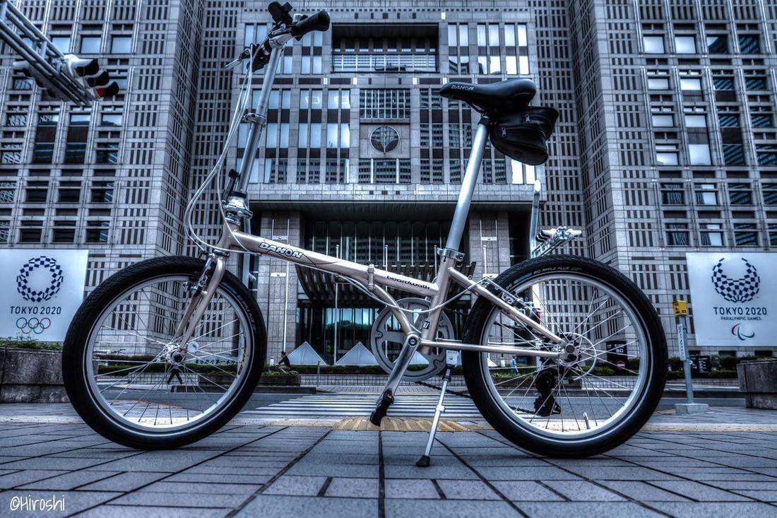Cycling in Shinjuku Dahon Bicycle Cityscapes Tadaa Community EyeEm Gallery EyeEm Best Edits EyeEmBestPics EyeEm Best Shots Sinjuku Tokyo Japan My Year My View