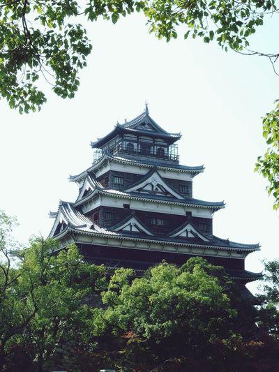 Japanese Castle Hiroshima