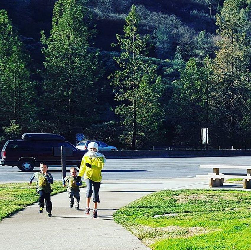Mt. Shasta rest area. Littlelegs Mtshasta Running Playing Travel Outdoors Redding