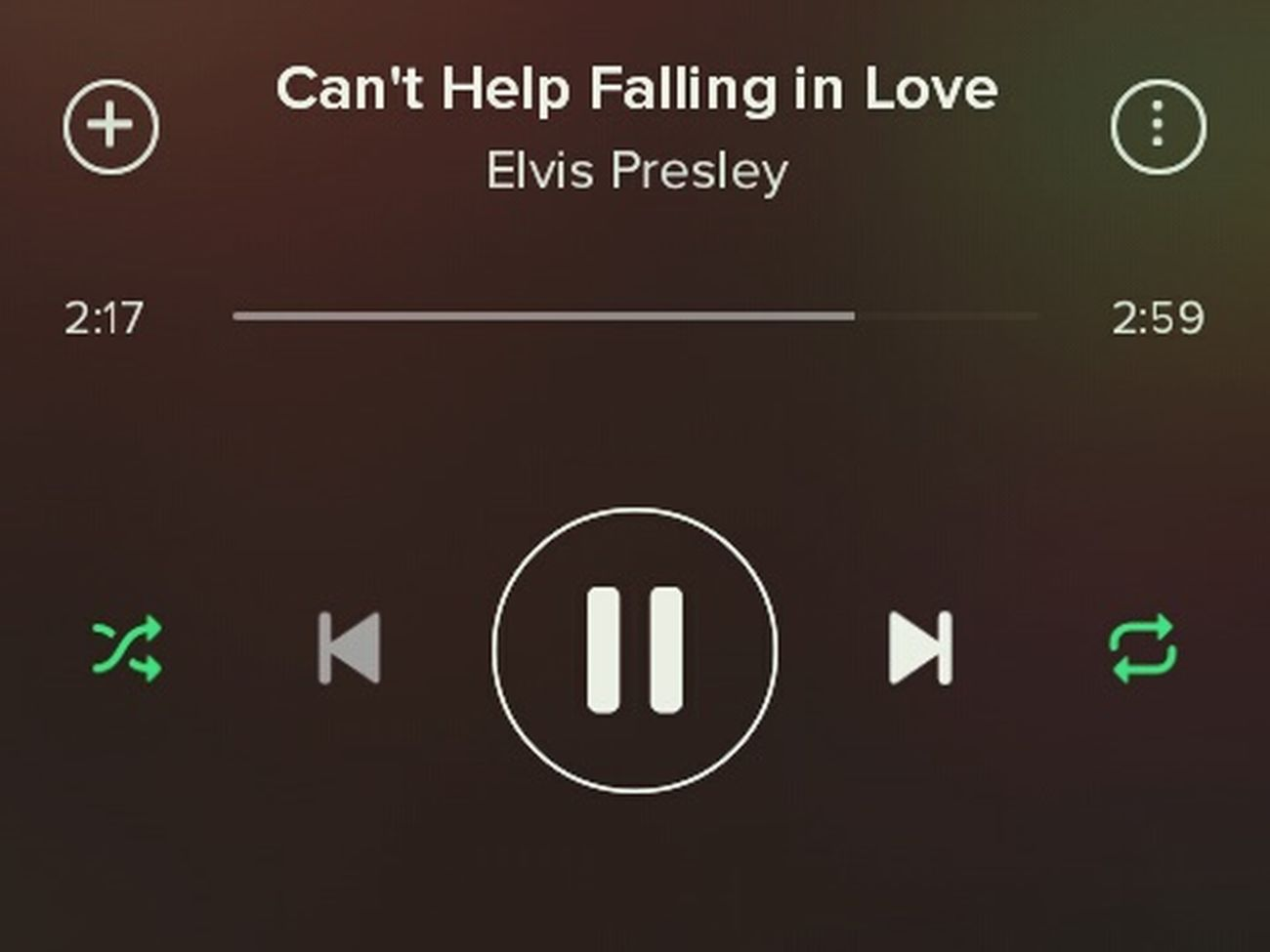 Elvis Presley Music Spotify (g)old