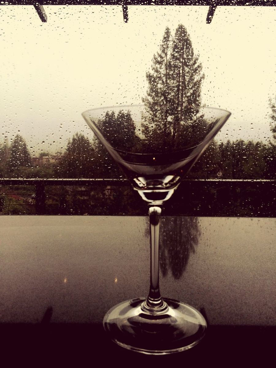 Martinis In The Rain Happy Hour Coctail Cocktail In A Glass Cocktails In The Rain Rainy Happy Hour Showcase March Black And White Friday