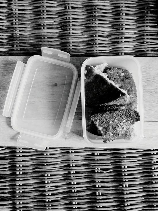Box Cake Close-up Day Home Homemade Inside Interior Lunch Lunch Box Lunch Pail No People Side By Side
