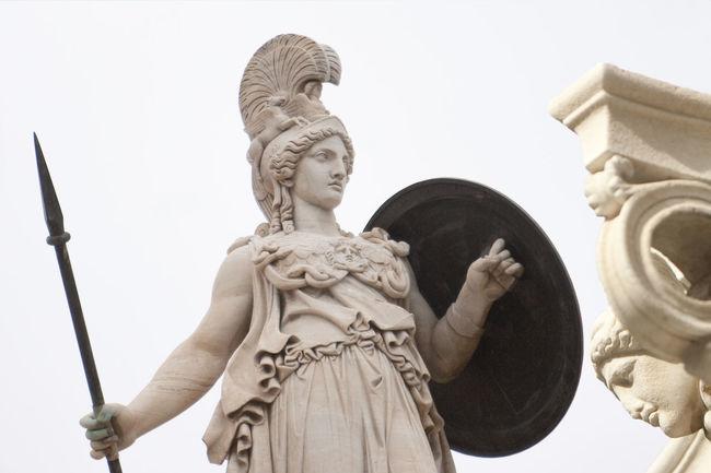 Art And Craft Athena Athens Column Greece History Minerva Monument Ornate Sculpture Statue