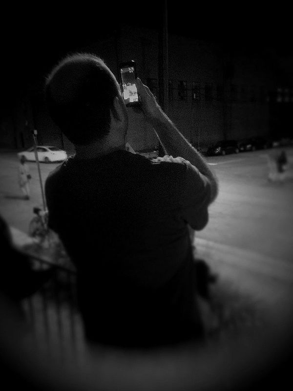Taking Photos Of People Taking Photos Holga Streetphoto_bw