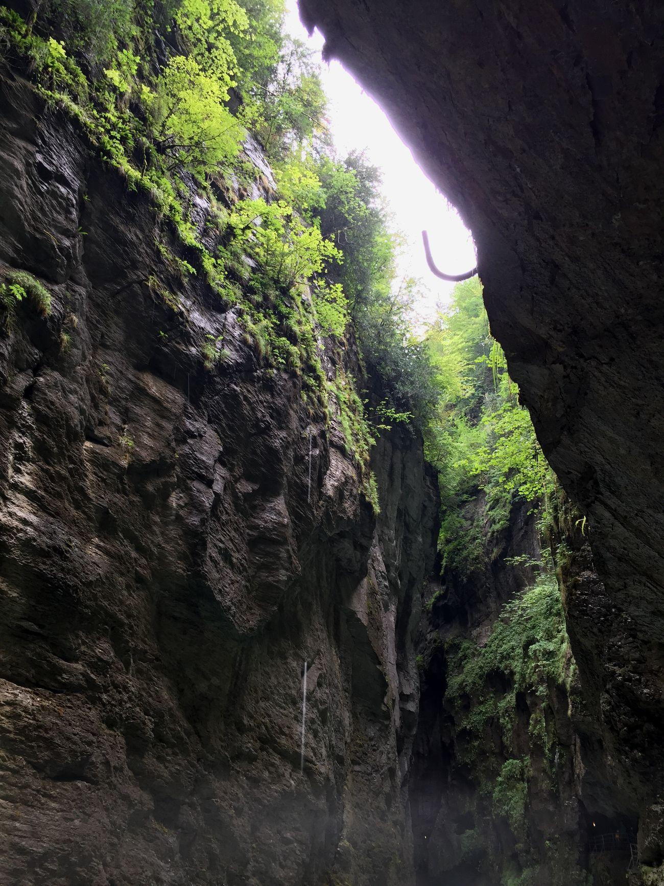 Trummelbachfalls Waterfalls Schwitzerland