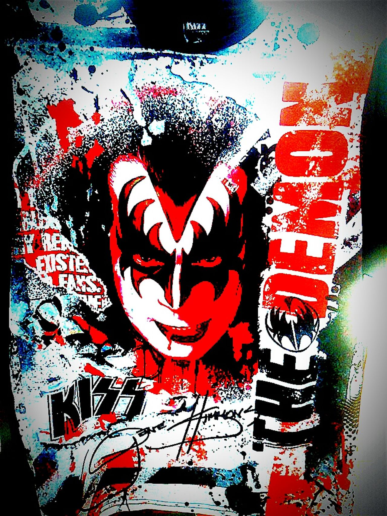 The Demon Kiss Gene Simmons Genesimmons Tshirts Tshirt T Shirts T Shirt Tee Shirt Bandshirt Tshirt♡ T Shirt Collection T Shirt Tees Tee Shirts Tshirtcollection Teeshirts T Shirt Tshirtporn Teeshirt Bandshirts T Shirt Art Gene Simmons Kiss :*
