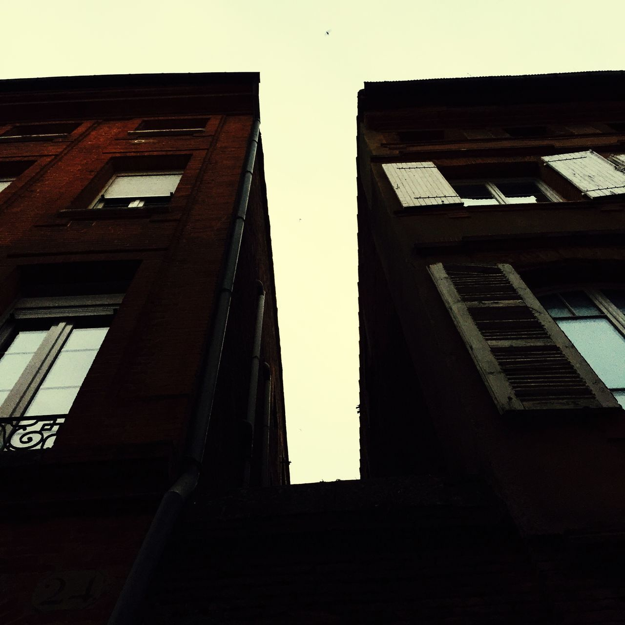T Sky France Toulouse Buildings Windows Streetphotography