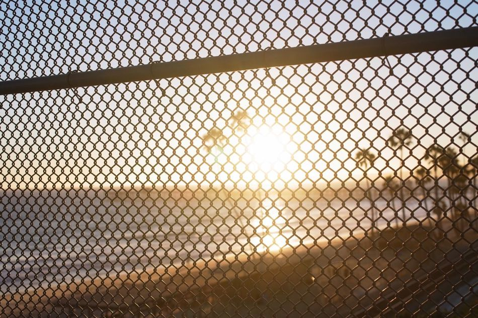 Beautiful stock photos of sun, Beach, Focus On Foreground, Grid, Horizon Over Water