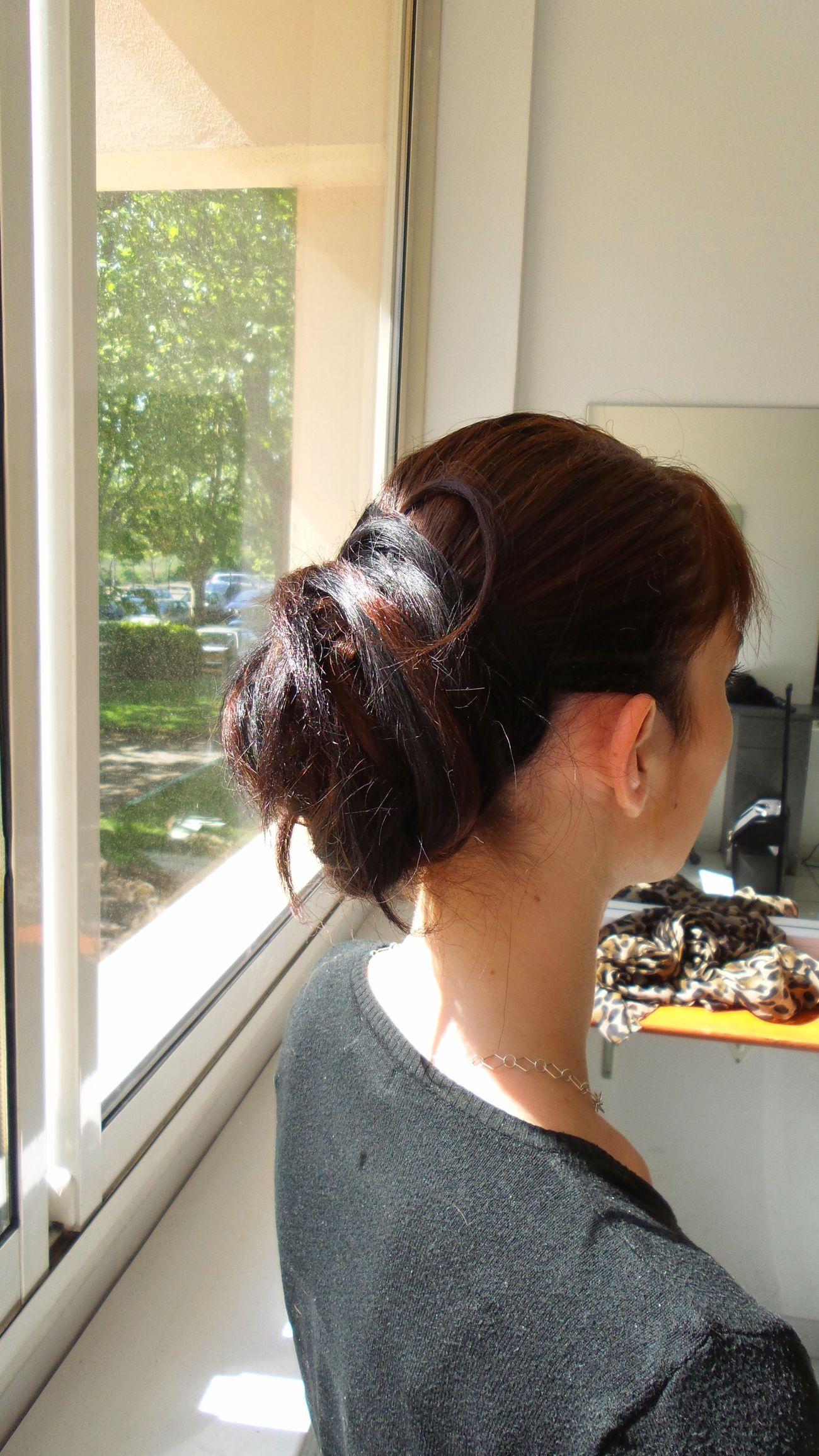 Hairdressing Creation Chignon