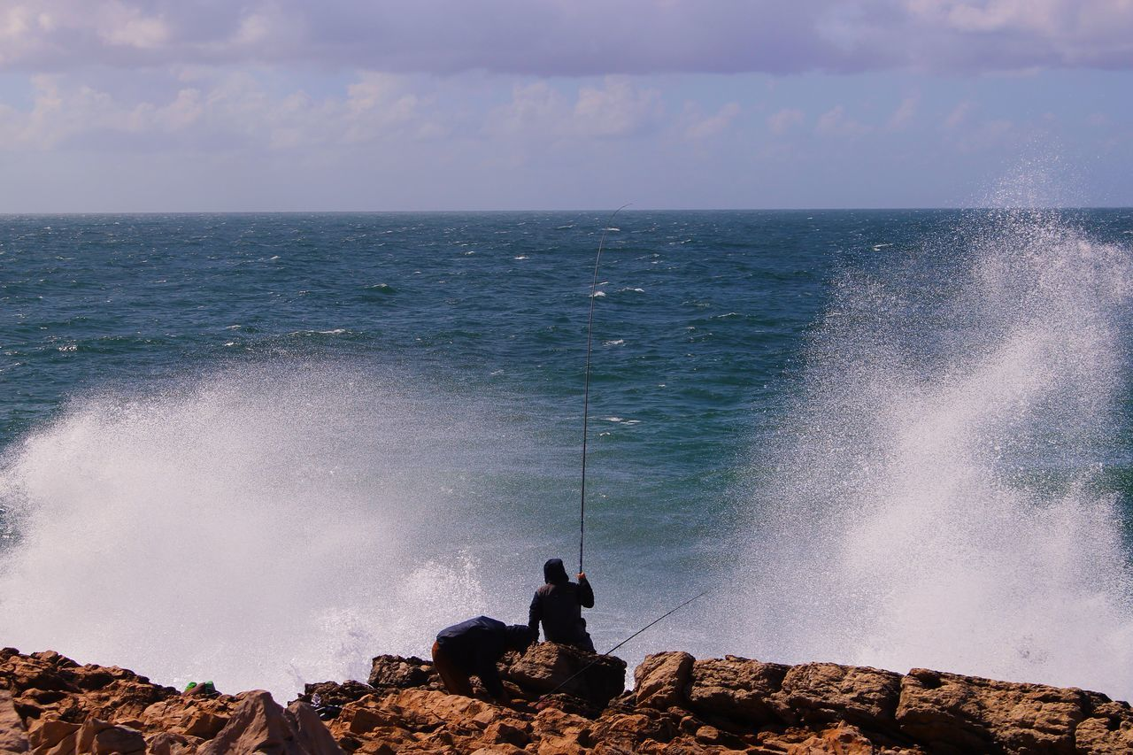 Beautiful stock photos of engel, Calm, Cloud, Day, Fishing