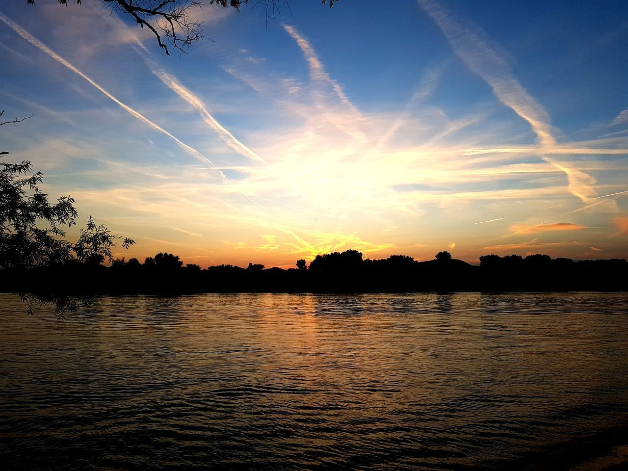 Sunset Water Cloud - Sky