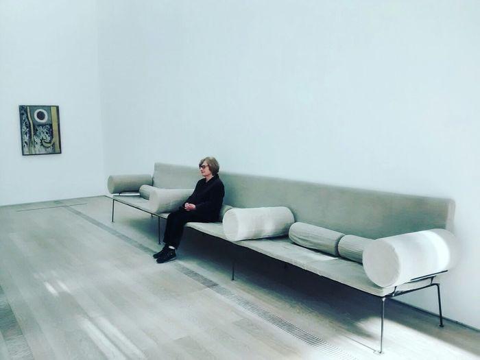 Looking at Barnett Newman. Lonely Foundationbeyerle Art Art Gallery Birthday Riehen Barnettnewman