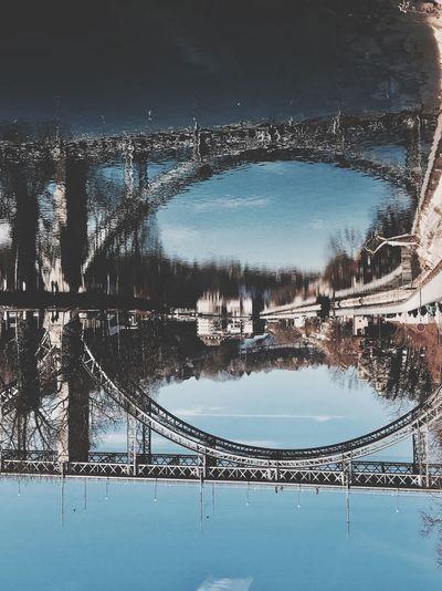 Bridge Architecture River Water Reflection Sky City Bern Switzerland