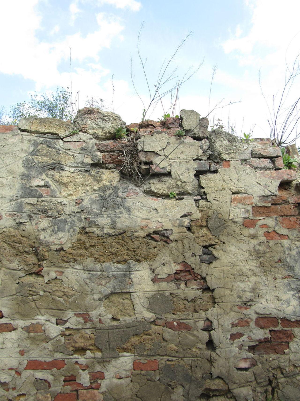Wien Vienna Liesing Wall Mauer Verlassen Abandoned Ziegel Brick Brick Wall Verfallene Mauer Textured  Full Frame Backgrounds Verfallen