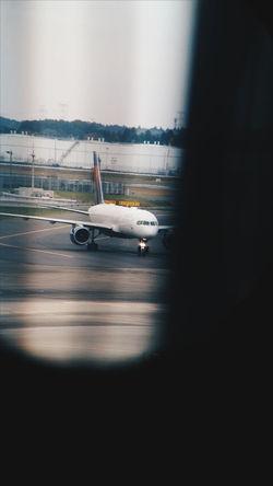Traveling Travel Japan Tokyo NARITAAIRPORT Narita AirPlane ✈ Airport Binocular View Binoculars PhonePhotography Photography First Eyeem Photo