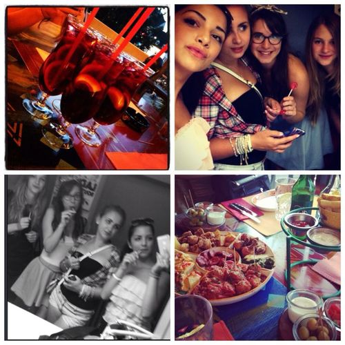 Friends Spanish Food Girls Night Out