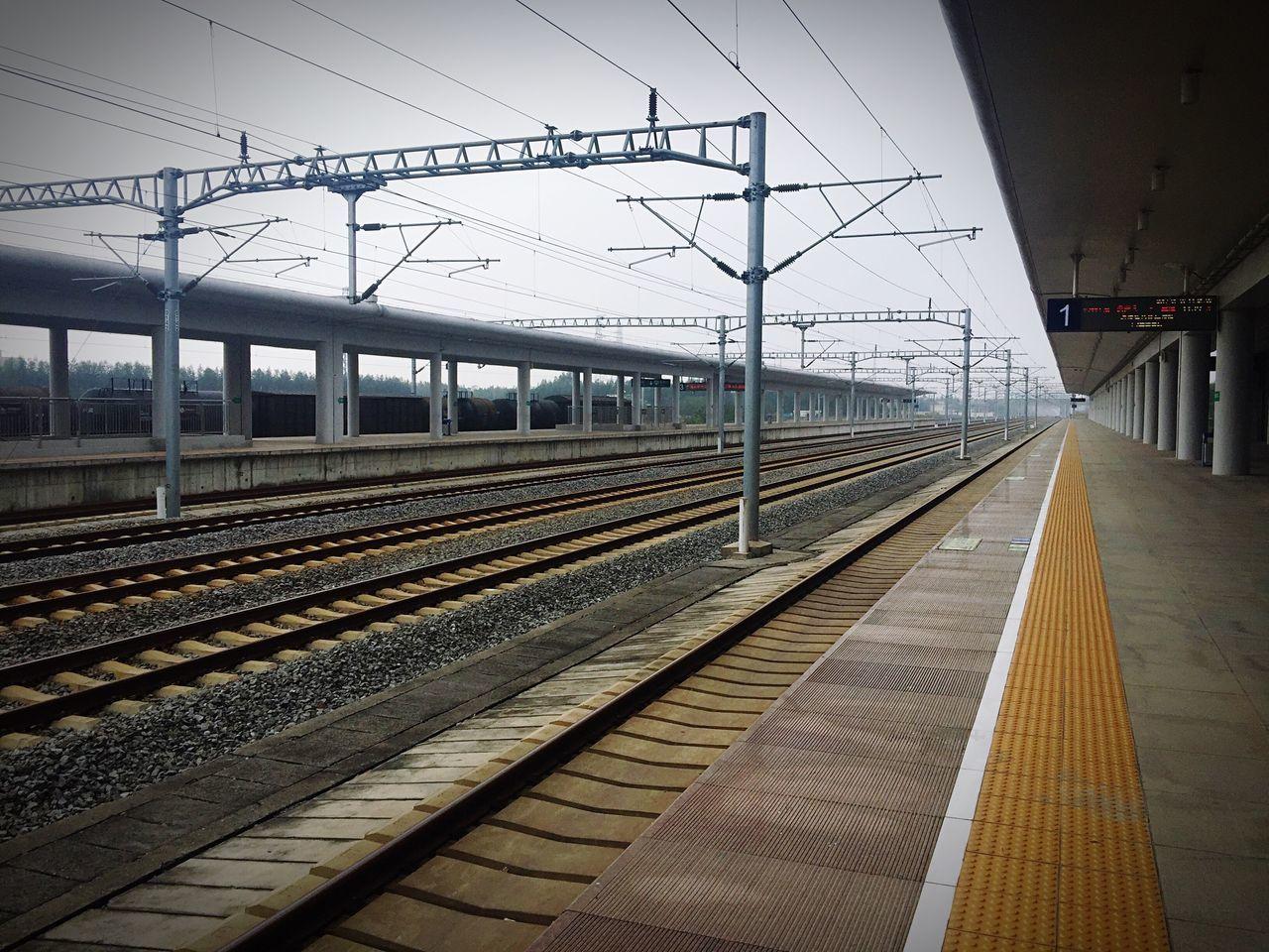 Railroad Track Railroad Station Train Station Architecture Public Transportation