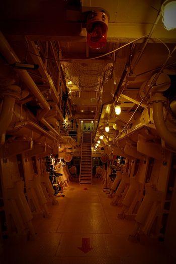 こういう所に来ると、ムダにワクワクするo(≧∀≦)o Adventure Labyrinth Dungeon Engine Room Snapshot Taking Photos Enjoying Life Growing Better