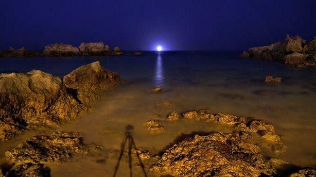 Relaxing Fotografianoturna Largaexposicion Sonyalpha Paisajes Water Reflections Lanzorete El Golfo Verano 2015 😄😄😄