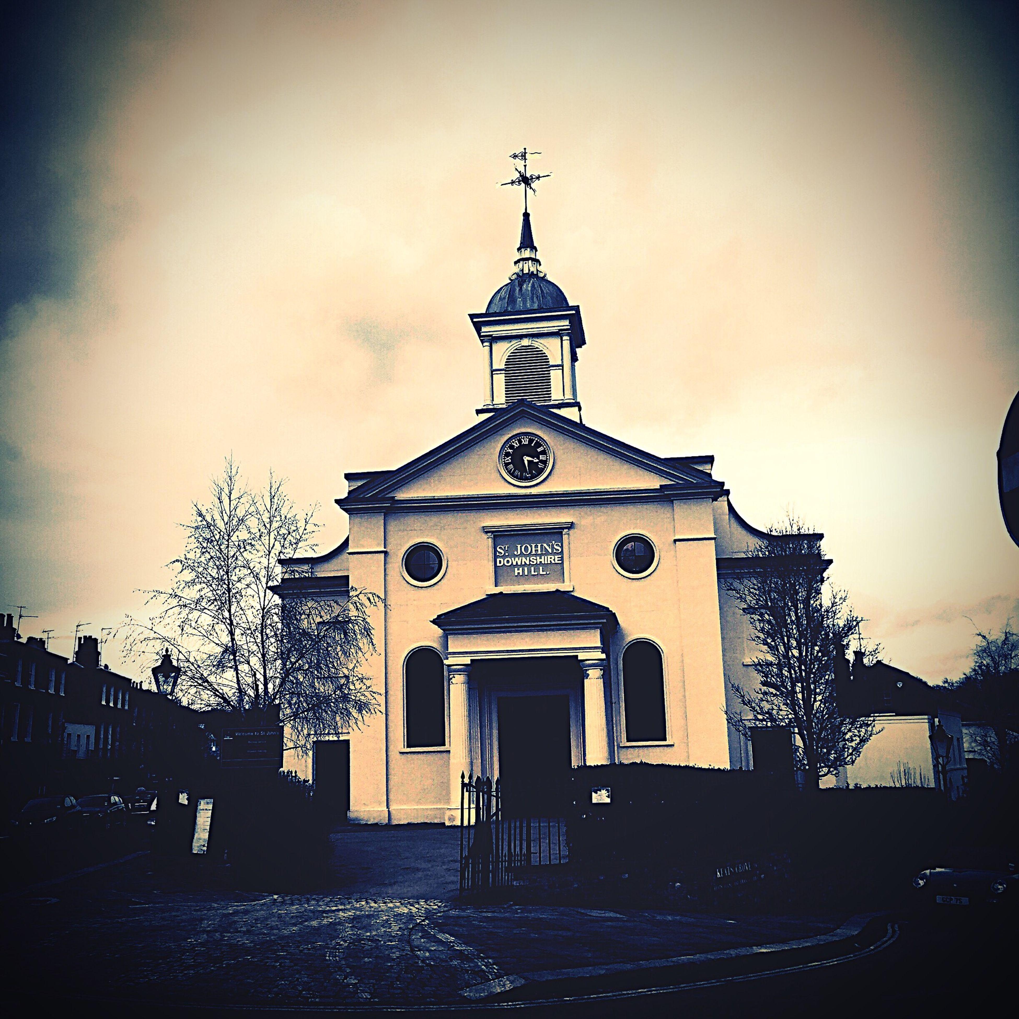 Found this church whilst wandering around London.