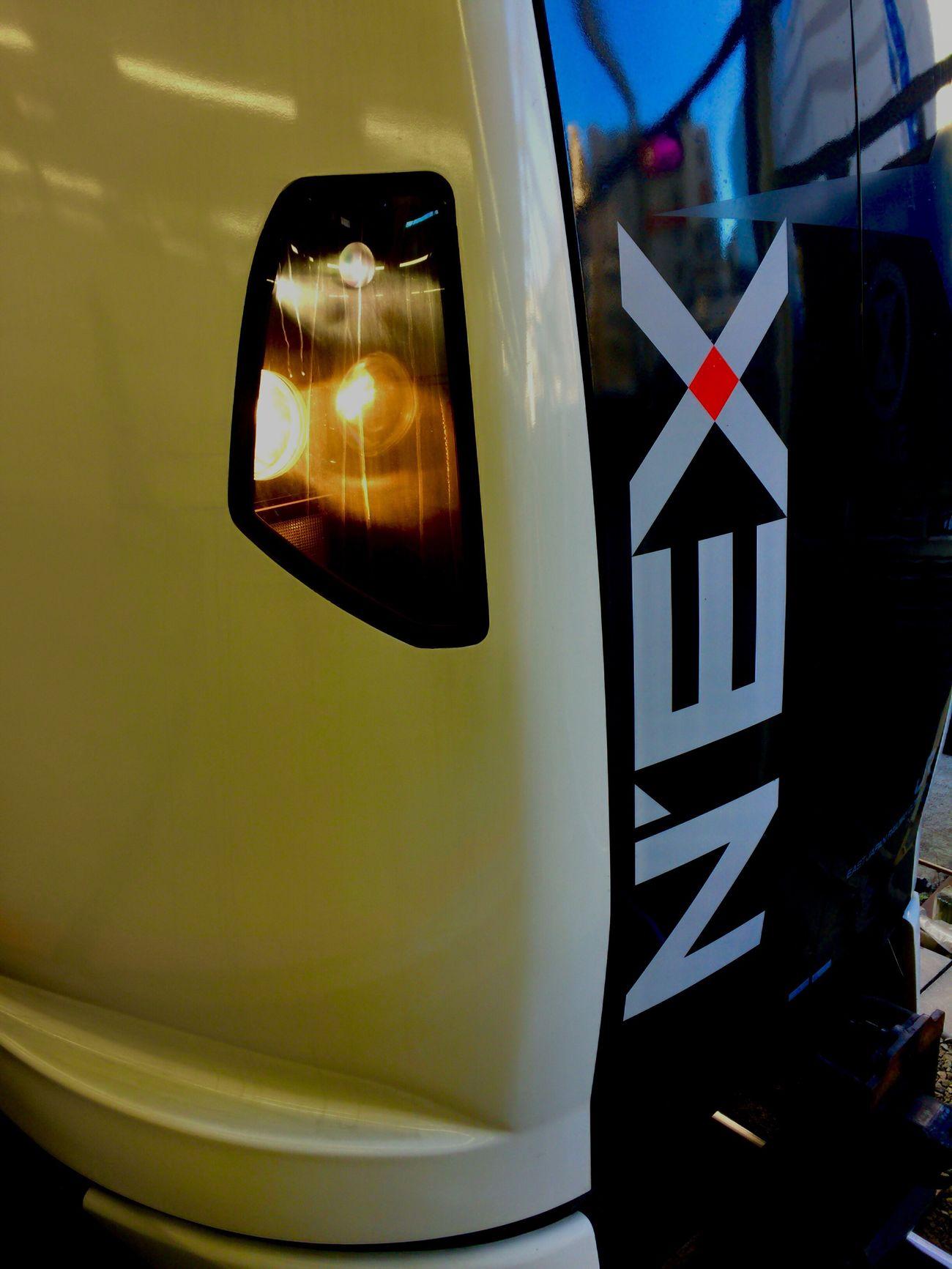 N'EX Narita Express Train Close-up Close Up Reflection Japan Railway JR EAST IPhoneography