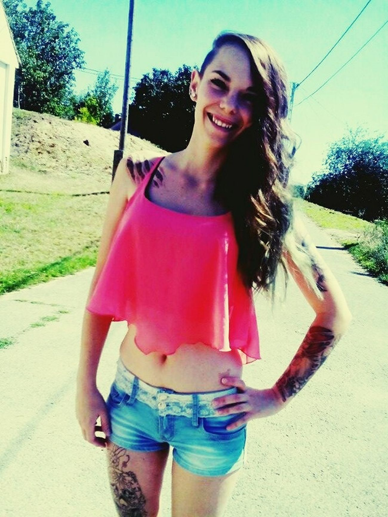 Summer Love😍 Smile. Tattoo❤