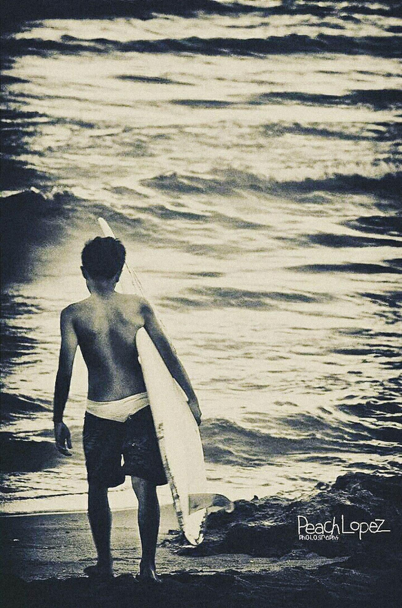 Young surfer. Showcase: November Launion Water Surfing Surf Beach