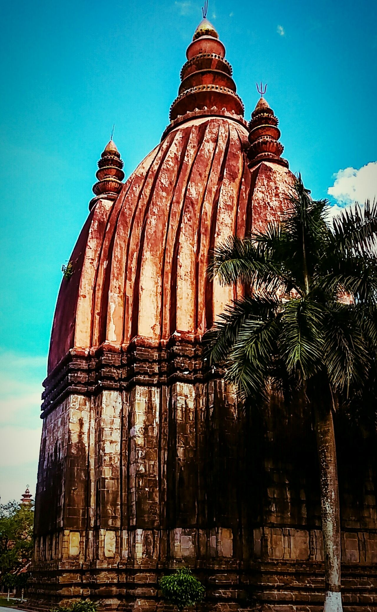 Shivadol....The great Shiva temple Sky No People Architecture Outdoors Nature Day Travel Destinations Awesomeassam Sivasagar Assam, India Ahoms Temple Architecture Templesofindia Templephotography Temples And Shrines Shiva Temple Shivamandir My Year My View