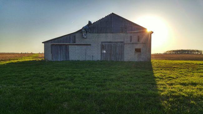 Outdoors Outdoor Photography Landscape_photography Landscape Scenics Scenery Rural Exploration Rurex Rural Ohio Backroads Abandoned Barn Showcase April Sunshine Sunlight Sunset