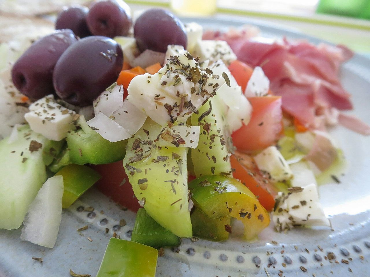 Lovely Lunch Greek Salad Hot Summer Day The Foodie - 2015 EyeEm Awards