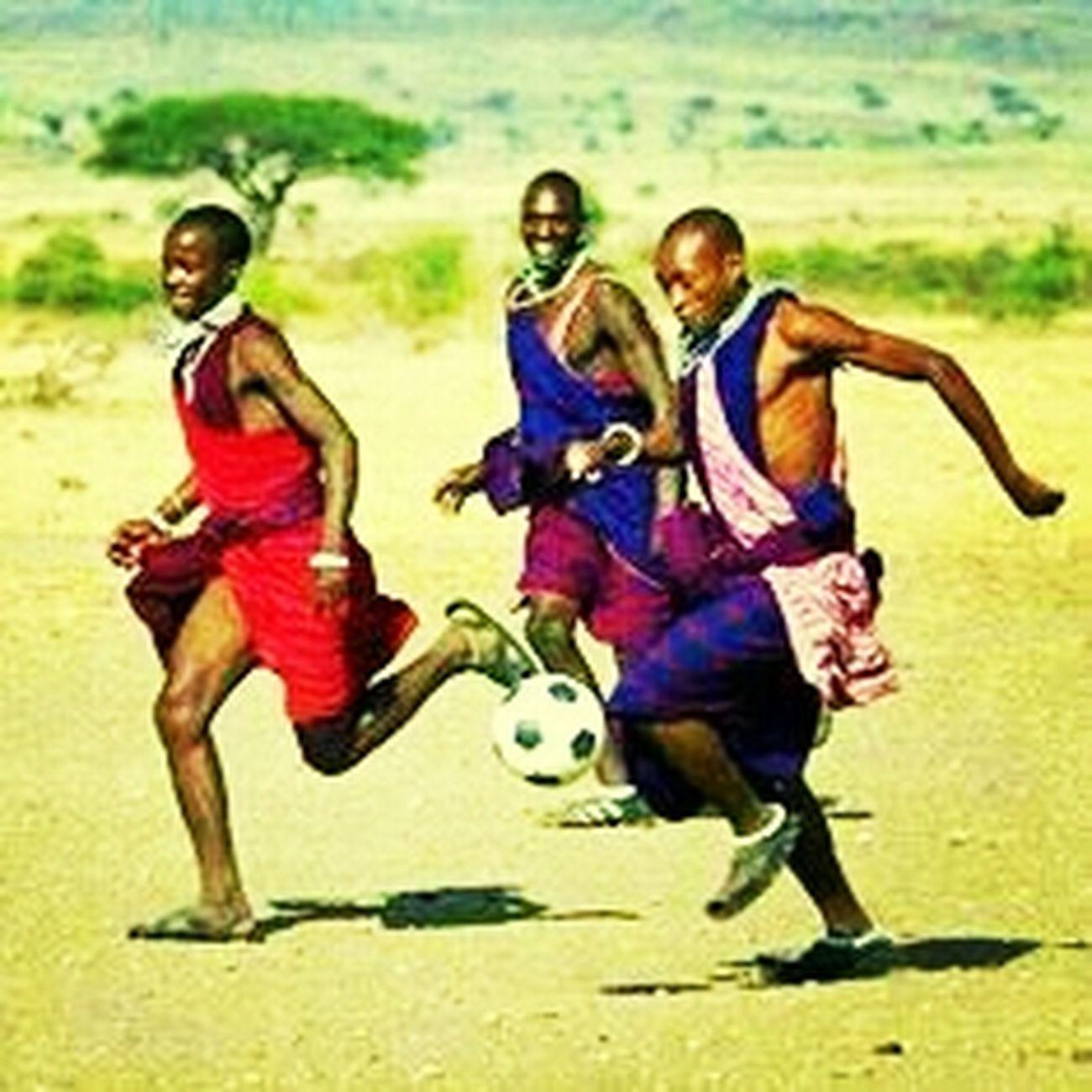 masai football...