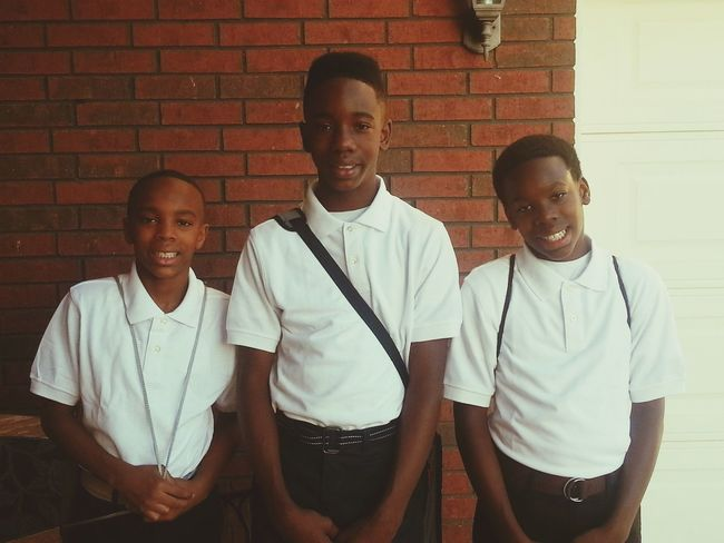 My handsome Lil men are growing up. 6th Grade  8th Grade 7th Grade First Eyeem Photo