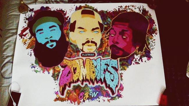 Good Vibes ✌ Psychedelic Smoking Weed FlatbushZombies The Underachievers