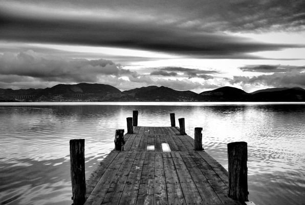 blackandwhite at Torre del Lago by Valemami