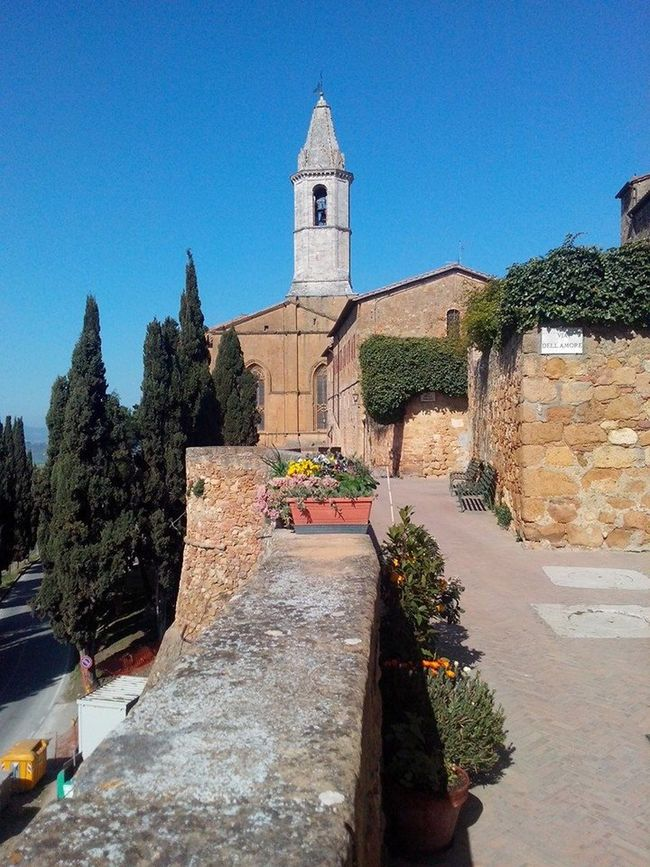 Ancient Civilization Architecture Beautiful Nature Church Culture History Nature Outdoors Pienza (toscana) Relaxing Time Tuscany Village Life