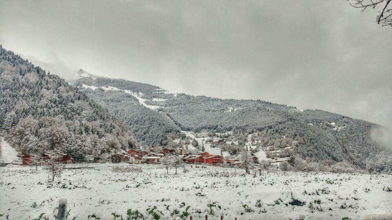 Snow Snowcapped Mountain Turkey Türkiye Huzur Nofilter Nature Trabzon Uzungol Turkey Uzungöl