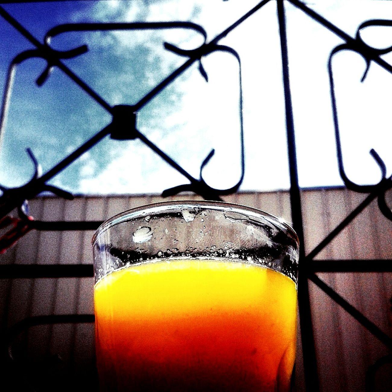 Relaxing Enjoying Life Orangejuic Orang Sky