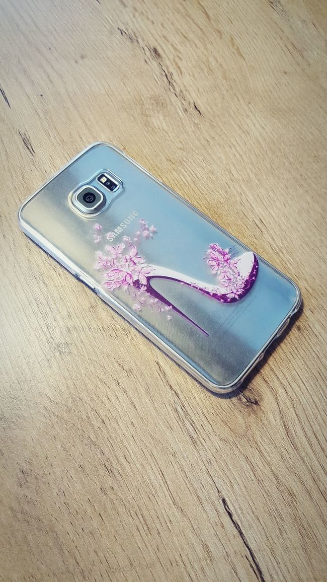 Handy Hülle Womensworld Shoe Samsung Galaxy S6 Edge