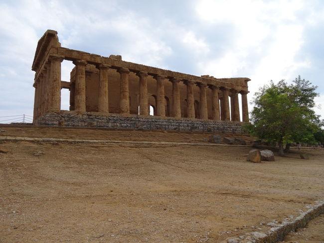 A taste of past Ancient Greek Architectural Column Architecture Concordia EyeEm Italy History Old Ruin Sicily Temple Travel Destinations Valle Dei Templi