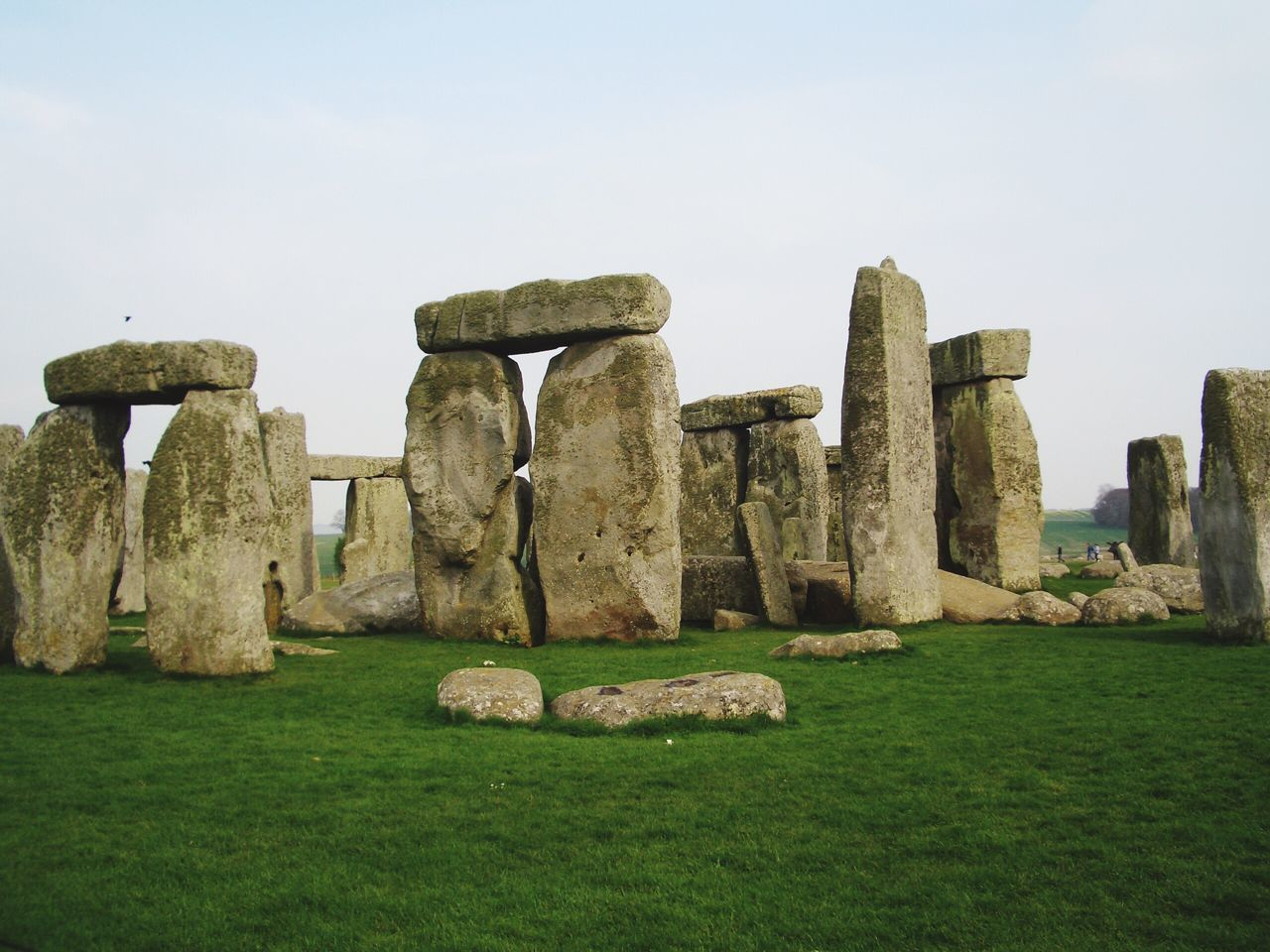 Stonehenge, Neolithic Stone - Object History Stone Material Ancient Civilization Travel Destinations Famous Place Built Structure Beam And Column