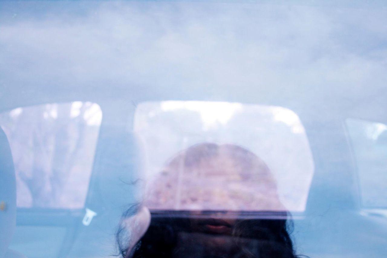 Almost myself. Self Portrait Crystal Clear